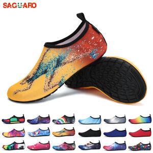 2019-SAGUARO-Men-Water-Shoes-Aqua-Socks-Diving-Socks-Wetsuit-Non-slip-Swim-Beach