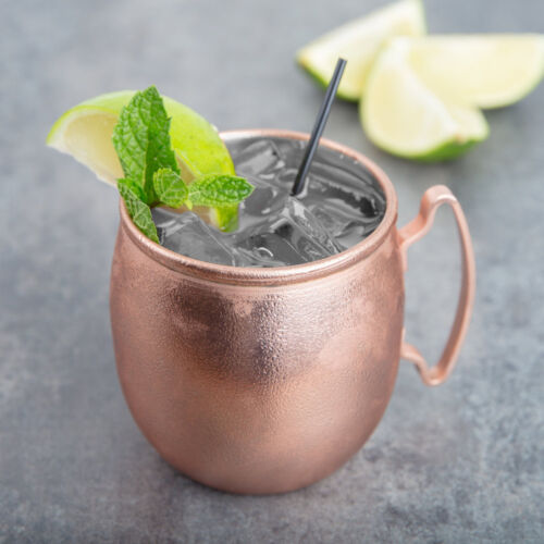 USA SELLER  MOSCOW MULE COOPER MUG 14 OZ  LIBBEY MM-100 FREE SHIPPING USA ONLY