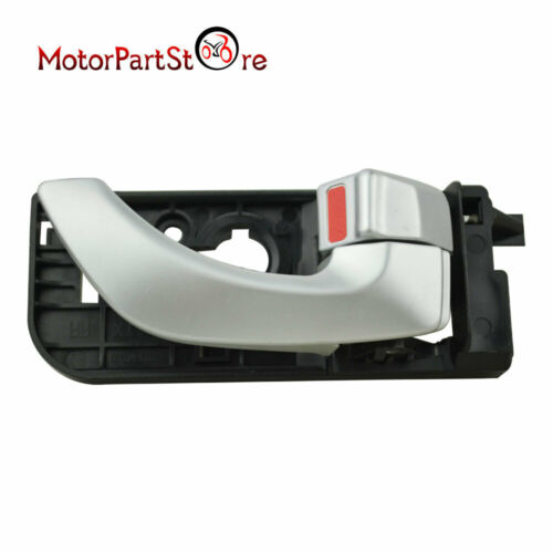 For Hyundai Sonata Inside Interior Inner Door Handle Silver Rear Left/&Right 2Pcs