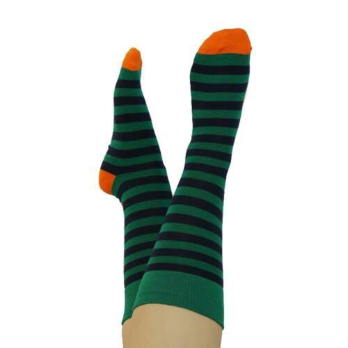 Unisex Socken Bio mit Streifenmuster Albero Damen//Herren Socken gestreift
