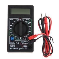 LCD Digital Multimeter Tester Meter Voltmeter Ammeter Ohm AC DC Tseter Meter