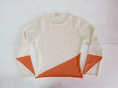 Attento Cesare Gatti Vintage Sweater Maglione Cashmere Cachemire Buono Per Succhietto Antipiretico E Per La Gola