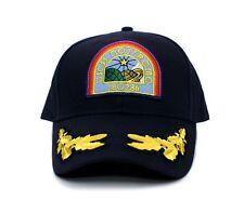 Alien Flat Nostromo USCSS Movie Hat Appliqué Patch Cap Navy Military 180286 c72f9f9ba4b4