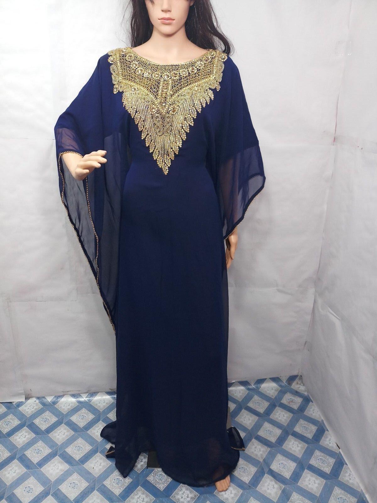 FARASHA DUBAI KAFTANS ABAYA DRESS VERY FANCY LONG STYLISH CAFTANS DRESS A843343