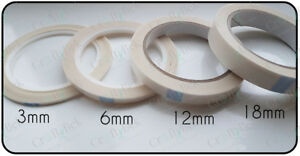 Double-sided-tape-25m-roll-3mm-6mm-9mm-12mm-18mm-tissue-tearable-FREE-P-amp-P