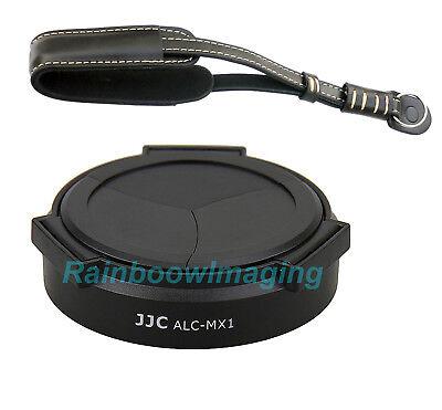 JJC ALC-MX1 Auto Self-Retaining Lens Cap for PENTAX Camera MX-1 Black