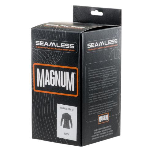 Magnum Thermal Longsleeve Top Black Police Base Layer Winter Work UK S-XXL