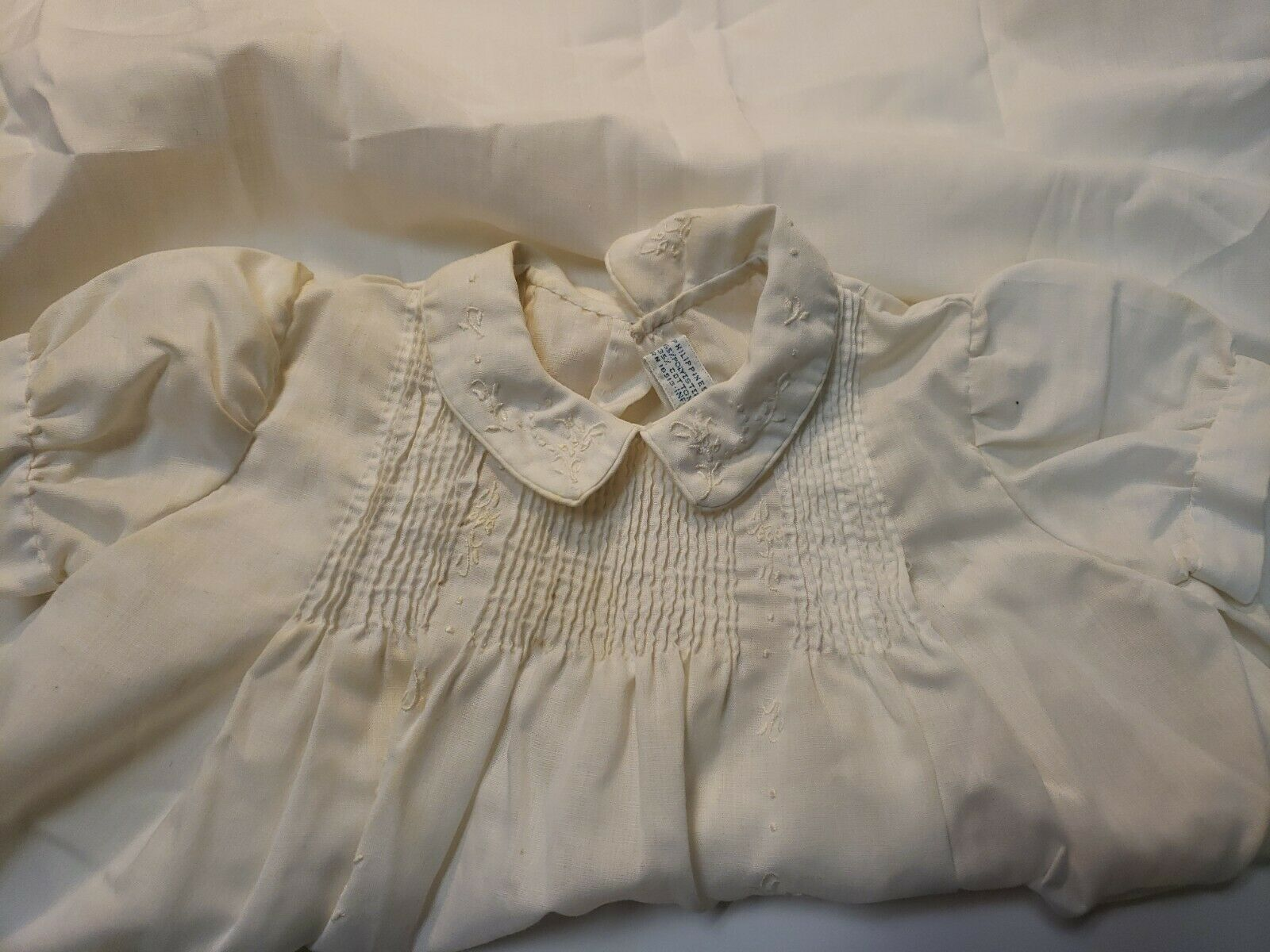 VINTAGE 1960s BABY GIRL'S EMBROIDERED DRESS lot o… - image 9
