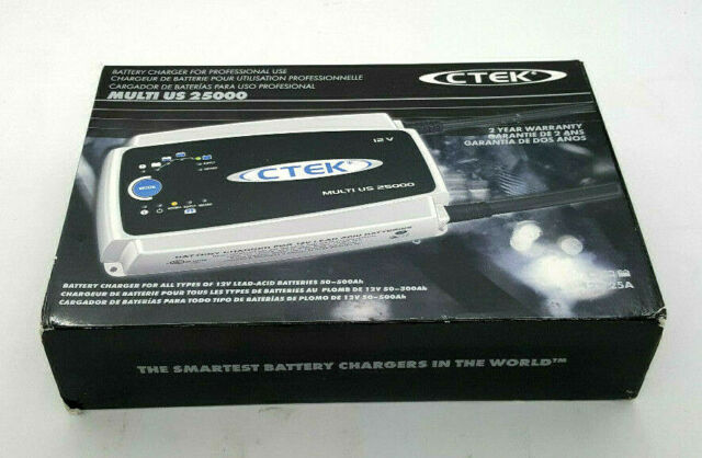 CTEK Multi US 25000 12v Compact Battery Charger