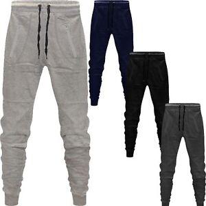 8c74c21b8 La imagen se está cargando Nuevo-Para-Hombre-Skinny-Pantalones-Deportivos -Chandal-Corredores-