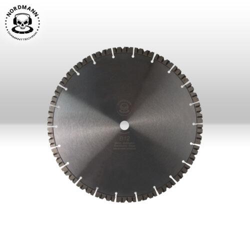 Diamant-Trennscheibe Diamantscheibe Ø 350 x 25,4 mm NORDMANN B12 Beton