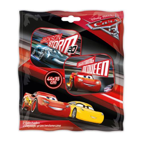 Pack of 2 Genuine Disney Cars Car Window Sun Shades Visor Mesh Kids Children 11