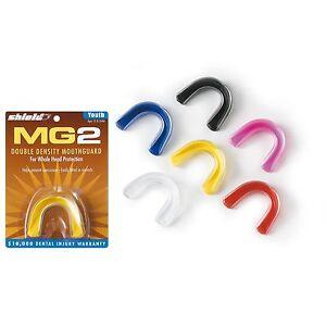 SHIELD MG2 zweistufiger Zahnschutz, Mouthguard, Kampfsport, Hockey, Rugby, MMA