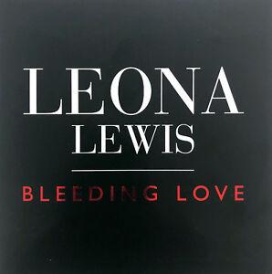 Leona-Lewis-CD-Single-Bleeding-Love-Promo-Europe-EX-M