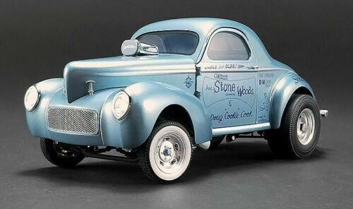 ACME 1 18 1941 Gasser escroc II (bleu)  Pierre Bois Cook Diecast voiture A1800912  haute qualité authentique