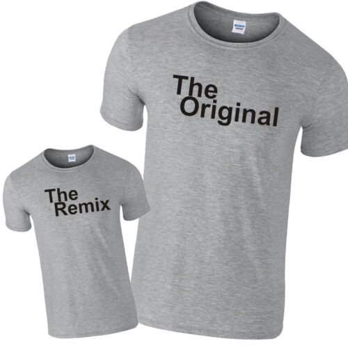 The Original /& The Remix Father Son Daughter Gift Sports PREMIUM T-Shirts