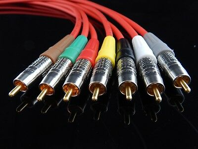 New 100/' Belden 1505F,RG59 High-Flex HDTV SDI Digital Video BNC Male//Male Cable