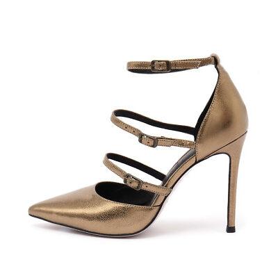 New Mollini Dalight Bronze Womens Shoes Dress Shoes Heeled