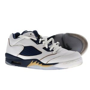 f7c5143dc4ce Nike Air Jordan Retro 5 Low Dunk From Above Gold Navy White Size 11 ...