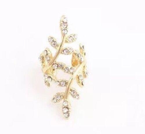 1pc Womens Ear Cuff Earrings Helix Stud Fake Clip On Silver Gold Wrap Jewellery