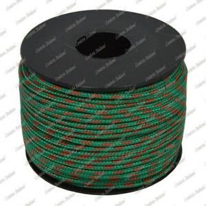 Cordino-sky-bracciali-collane-fai-da-te-verde-con-spia-rossa-2-mm-50-mt