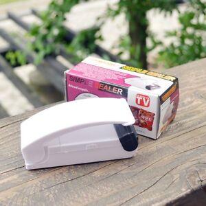 Kitchen Tool Mini Sealer Portable Sealing Food Snack Plastic Bag Sealer Machines