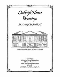 Image Is Loading Oakleigh House Drawings Mobile Al Historic Plans