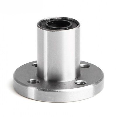 1Pcs LMF16UU Round Flange Linear Motion Bushing Ball Bearing For 16mm Shaft