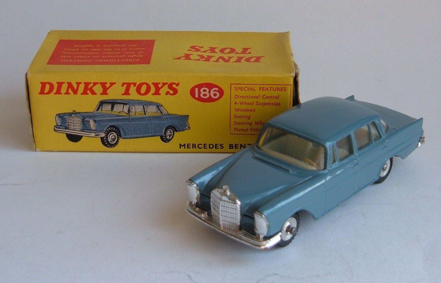 Descuento del 70% barato Dinky Juguetes Nº 186, Mercedes-Benz 220 se, -- -- -- Excelente muy casi nuevo y sin usar.  la mejor selección de