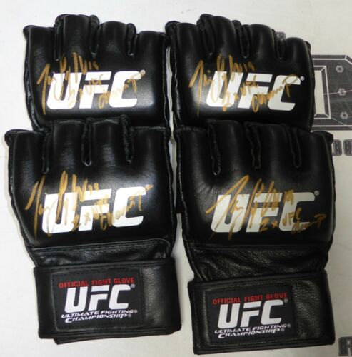 Tim Sylvia Signed Official UFC Fight Glove PSA//DNA COA Heavyweight Champ Auto/'d