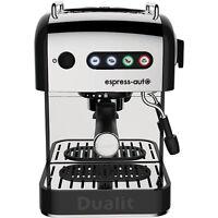 Dualit 84516 Espress-auto 4 In 1 Espresso Coffee Machine 15 Bar Black / Chrome