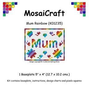 MosaiCraft-Pixel-Craft-Mosaic-Art-Kit-039-Mum-Rainbow-039-Pixelhobby
