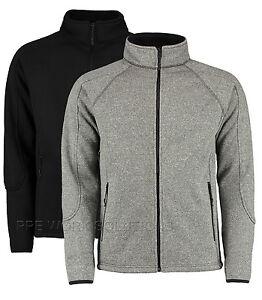 Kustom-Kit-Mens-Knitted-Fashion-Fleece-Zip-Up-Comfortable-Ultra-Warm-Fit-KK306