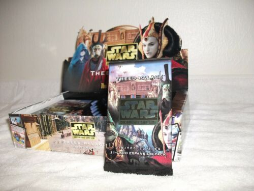 Star Wars CCG Factory Sealed Booster Pack Theed Palace Limited