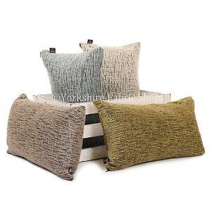 Nuevo-Moderno-Suave-Tejido-Con-Textura-chenilla-tela-hecho-a-mano-Funda-De-Cojin