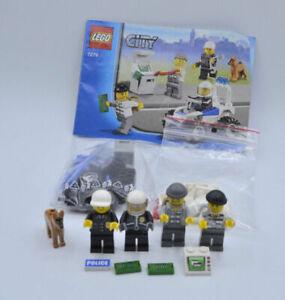 2019 DernièRe Conception Lego Set 7279 City Police Personnages Criminels Avec Ba Police Minifigure W. Instr.-afficher Le Titre D'origine