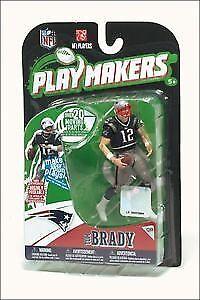Patriots Tom Brady Playmakers Series 1 Action Figurine