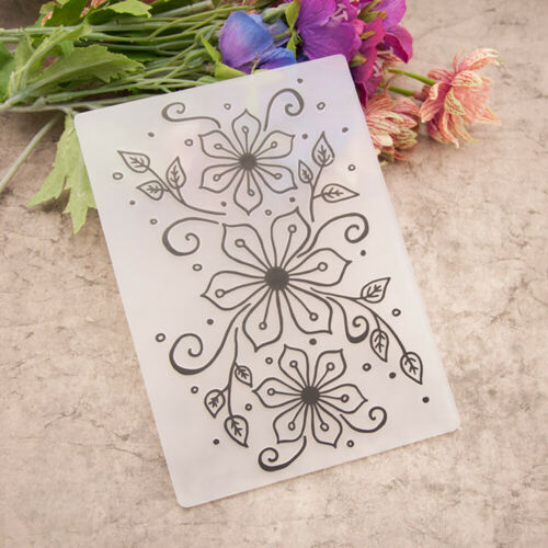 Various Plastic Stamps Seal Embossing Folder Scrapbooking Template Mold YG