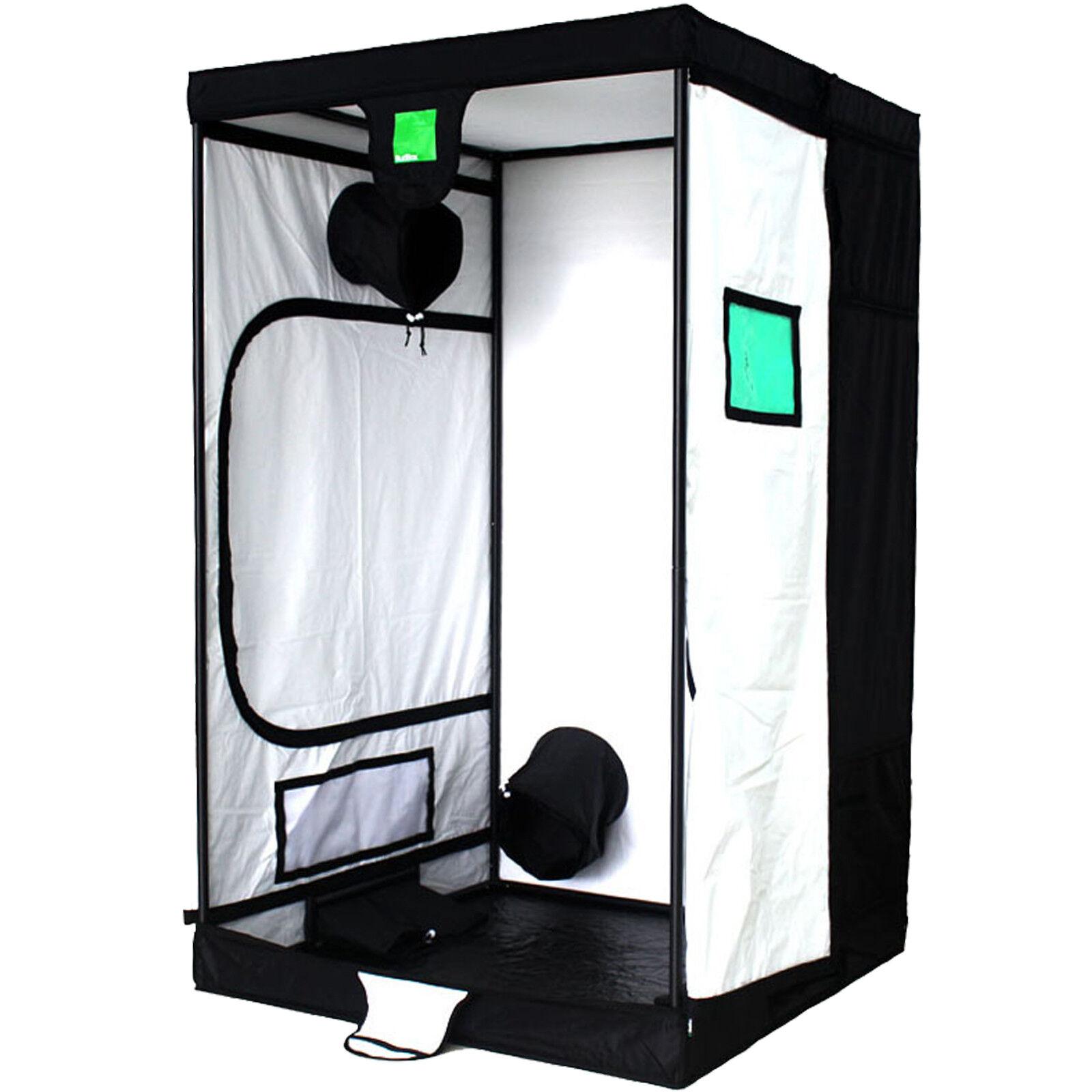 Budbox pro 1.2m x 1.2m x 2.0m Idroponico Bianco Grow Room Tenda