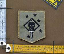 "Ricamata / Embroidered Patch Marsoc ""Marine Raider Afgh"" with VELCRO® brand hook"