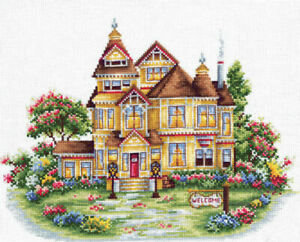 Counted-Cross-Stitch-Kit-MAKE-YOUR-OWN-HANDS-Welcome