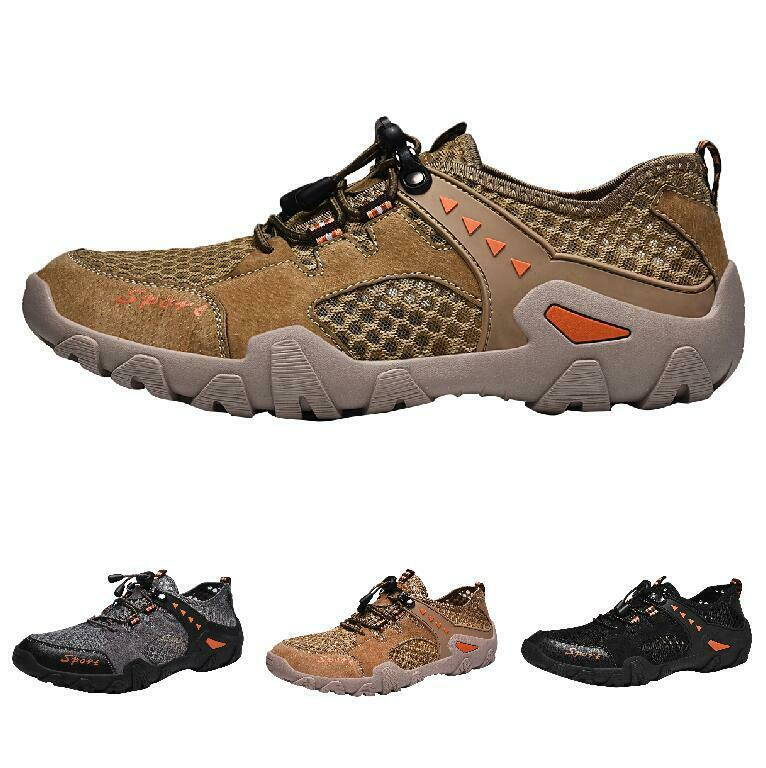 Casuals shoes Men Outdoor Mesh Pump Sport Beach Leisure Sneaker Athletic Trail