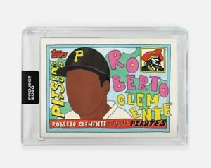 TOPPS PROJECT 2020 ROBERTO CLEMENTE BY FUCCI CARD #371 SOLD OUT 🚫 RARE HTF ⚾️💥