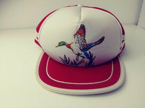Vintage Trucker Hat Snapback 3 Stripe Duck clean c