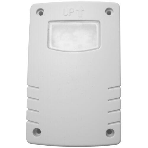 OUTDOOR RATED mural Cellule Photoélectrique-IP44 10-Dusk Dawn Auto Capteur de lumière Interrupteur