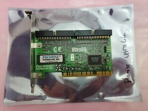 PC Computer Promise Technology 6001089 ULTRA66 Ata/66 PCI Interface Card |  eBay