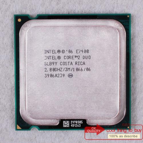 1 of 1 - Intel Core 2 Duo E7400 CPU (AT80571PH0723M) SLB9Y 2.8/3M/1066 Free ship