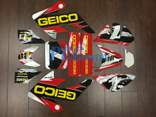 GEICO GRAPHICS DECAL STICKERS KIT HONDA CRF50 CRF 50 F 2004-2014 SDG SSR V DE65