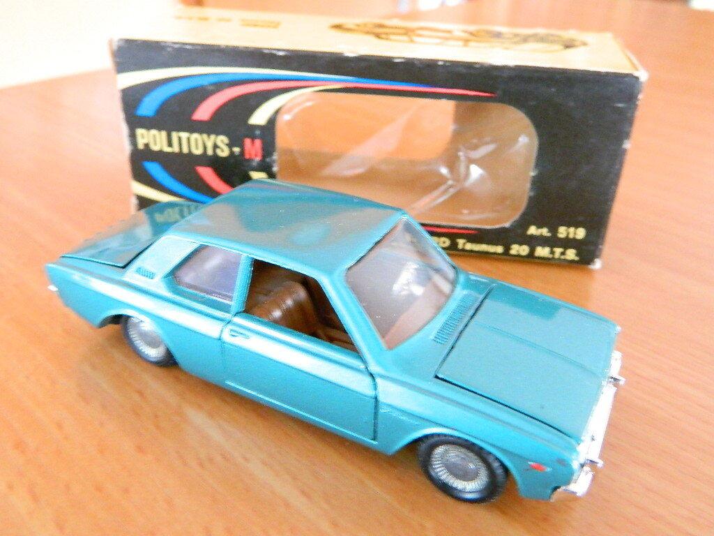 Politoys no. 519-FORD 20 M TS dans Original Boîte-VINTAGE RARE 1 43