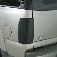 Smoke Tail Light Covers For A 1992 - 2000 Chevrolet Suburban